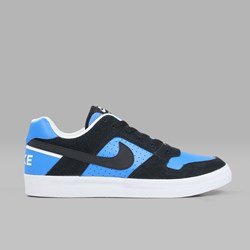 NIKE SB DELTA FORCE VULC BLACK BLACK ITALY BLUE