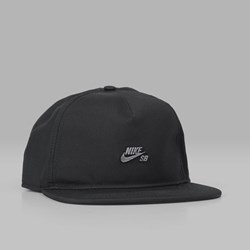 NIKE SB DRI FIT SNAPBACK CAP BLACK ANTIQUE BLACK