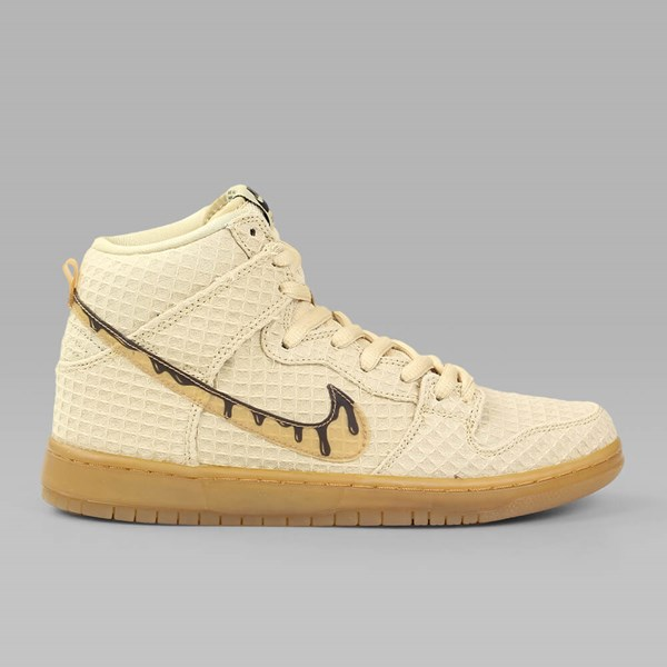 d17d4add NIKE SB DUNK HI PREMIUM 'CHICKEN & WAFFLES' FLAT GOLD ...