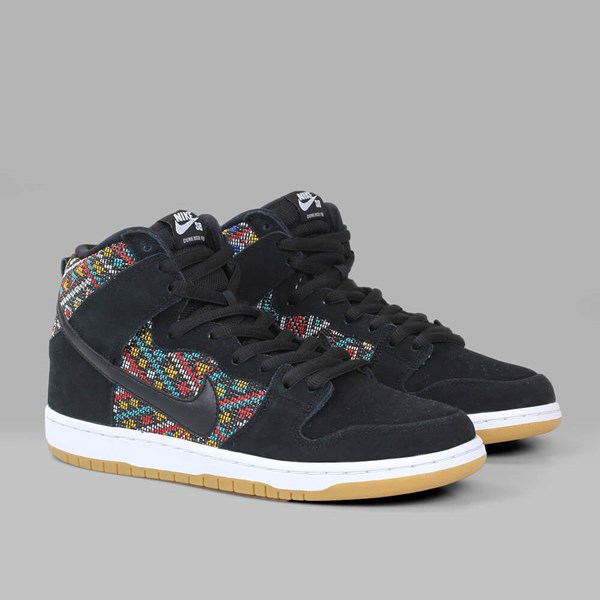 NIKE SB DUNK HI 'SEAT COVER PACK' BLACK RIO TEAL