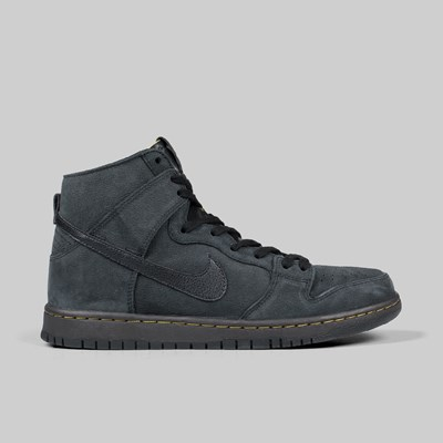 NIKE SB DUNK HIGH DECON PRM ISO 'LUX PACK' BLACK VELVET BROWN