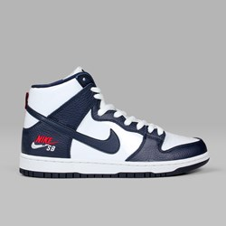 NIKE SB DUNK HIGH 'FUTURA COURT' PACK OBSIDIAN WHITE