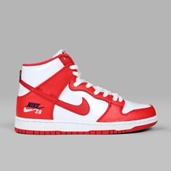 NIKE SB DUNK HIGH 'FUTURA COURT' PACK UNIVERSITY RED