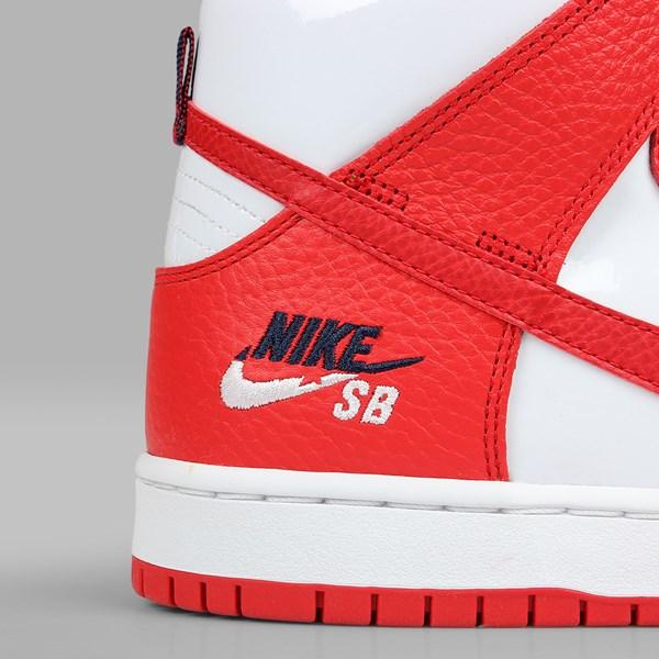 factory authentic 41e5b fa887 NIKE SB DUNK HIGH 'FUTURA COURT' PACK UNIVERSITY RED | NIKE ...
