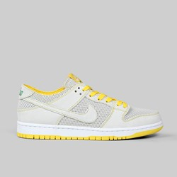 NIKE SB DUNK LOW DECON QS WHITE ALOE VERDE YELLOW