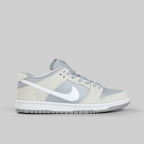 separation shoes a4630 16bf2 NIKE SB DUNK LOW SUMMIT WHITE VAST GREY WHITE
