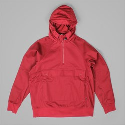 NIKE SB EVERETT PULL OVER JACKET TEAM RED
