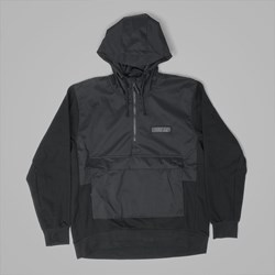 NIKE SB EVERETT REPEL HOODY JACKET BLACK BLACK