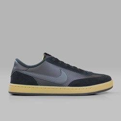 NIKE SB FC CLASSIC BLACK ANTHRACITE VIVID ORANGE