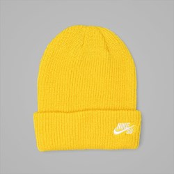 NIKE SB FISHERMAN BEANIE TOUR YELLOW