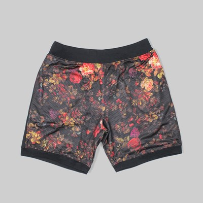 NIKE SB FLORAL DRY SHORT 'ROSE PACK' BLACK