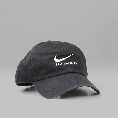 NIKE SB H86 TWILL SNAPBACK CAP BLACK BLACK  15fb5e0e2289