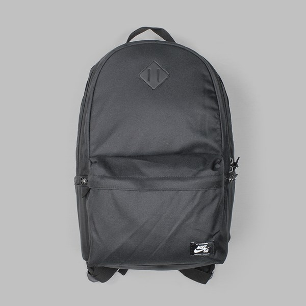 NIKE SB ICON BACKPACK BLACK BLACK WHITE