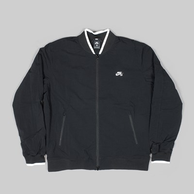 NIKE SB ICON BOMBER JACKET BLACK
