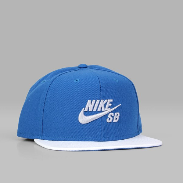 65ea6c66cfe1e NIKE SB ICON PRO CAP INDUSTRIAL BLUE WHITE BLACK | NIKE ...