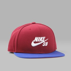 NIKE SB ICON PRO CAP TEAM RED DEEP ROYAL