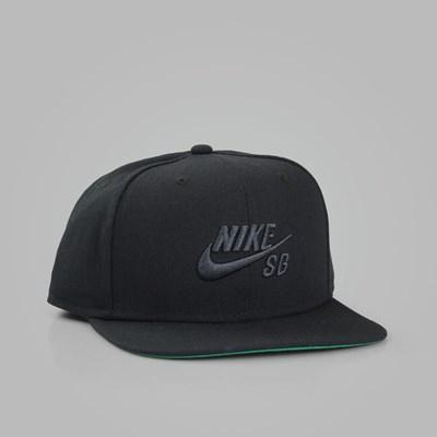 f415cf4ed NIKE SB ICON PRO SNAPBACK BLACK BLACK | NIKE Skateboarding Caps
