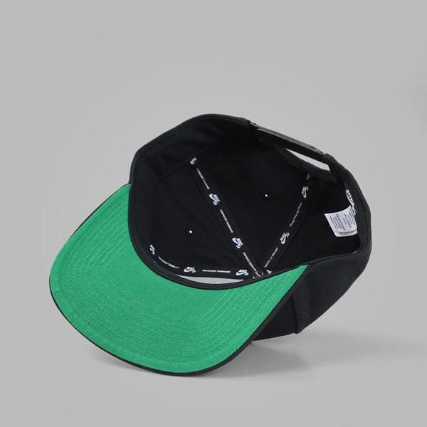 0de00413f NIKE SB ICON PRO SNAPBACK BLACK BLACK | NIKE Skateboarding Caps