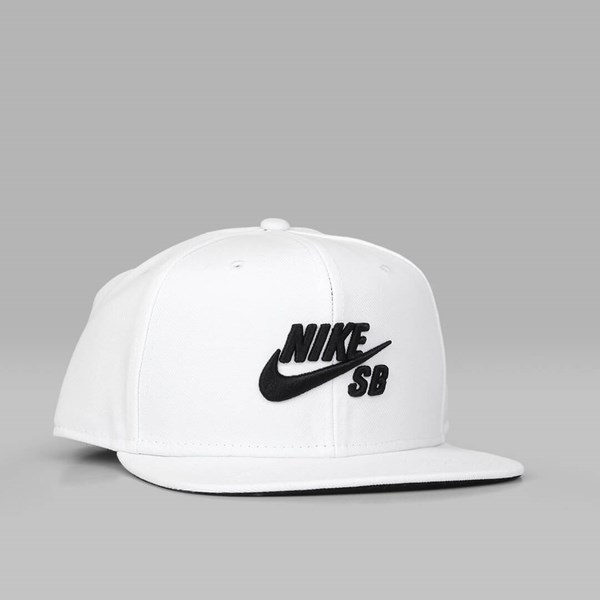 4ff423e5f NIKE SB ICON PRO SNAPBACK WHITE WHITE BLACK | NIKE ...