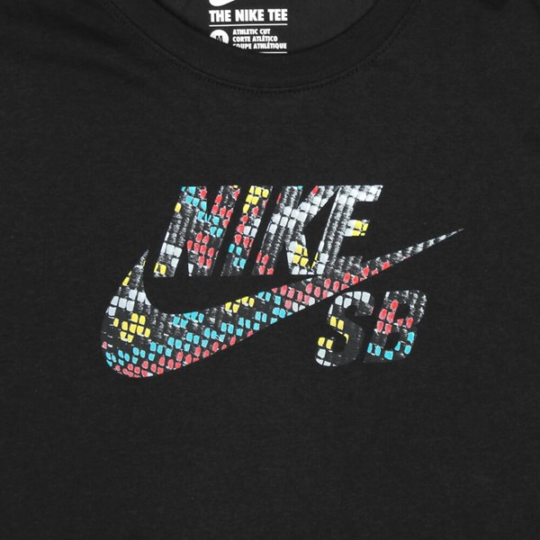 NIKE SB ICON LOGO 'SEAT COVER PACK' TEE BLACK