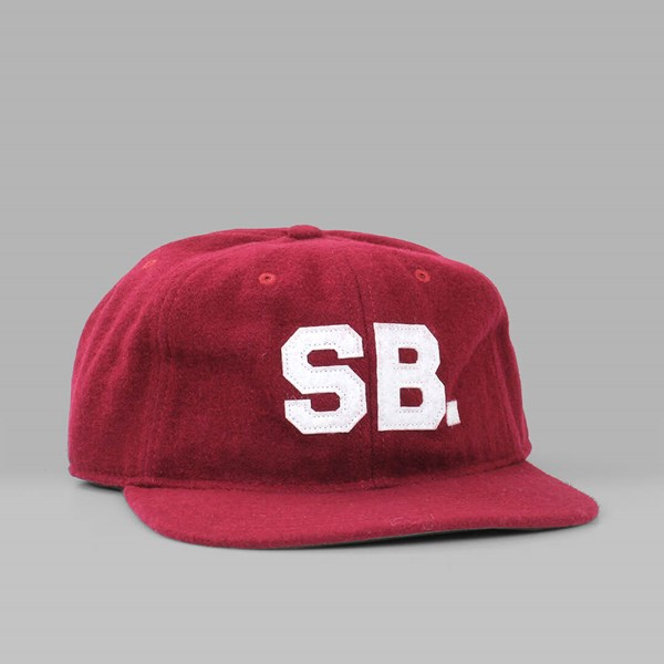 NIKE SB INFIELD PRO WOOL STRAP BACK TEAM RED