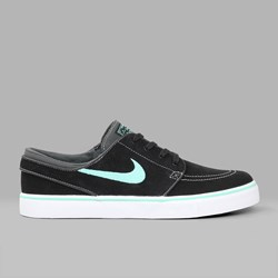 NIKE SB JANOSKI BLACK GREEN GLOW ANTHRACITE