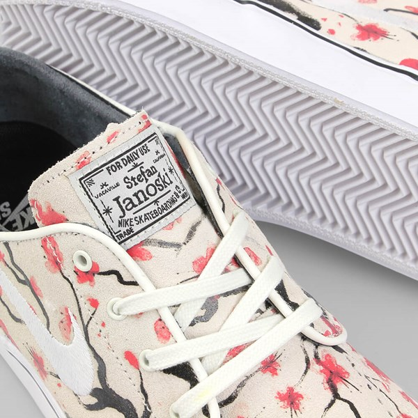 NIKE SB JANOSKI ELITE 'CHERRY BLOSSOM PACK' WHITE