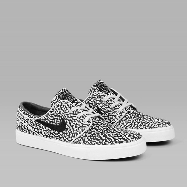 NIKE SB JANOSKI ELITE 'ROAD PACK' QS PURE PLATINUM
