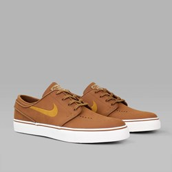 NIKE SB JANOSKI LEATHER ALE BROWN DESERT OCHRE