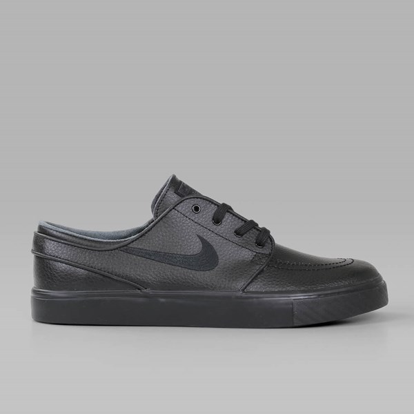 NIKE SB JANOSKI LEATHER BLACK BLACK ANTHRACITE