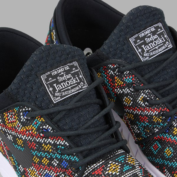 NIKE SB JANOSKI MAX 'SEAT COVER PACK' BLACK MULTI
