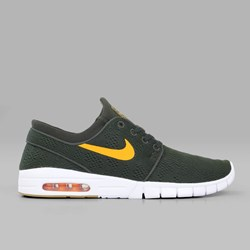 NIKE SB JANOSKI MAX SEQUOIA CIRCUIT ORANGE GUM
