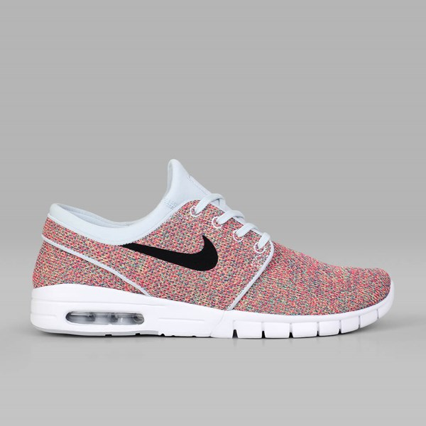 NIKE SB JANOSKI MAX VOLT BLACK PHOTO BLUE RACER PINK