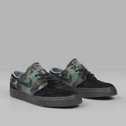 NIKE SB JANOSKI OG 'CAMO PACK' BLACK MEDIUM OLIVE
