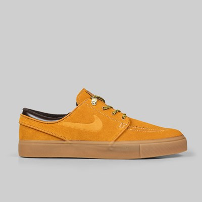 NIKE SB JANOSKI PRM 'WHEAT PACK' BRONZE GUM LT BROWN