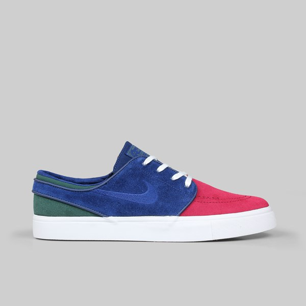 NIKE SB JANOSKI 'RIVALS PACK' RED CRUSH BLUE VOID