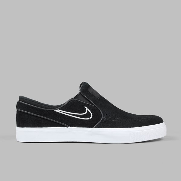 NIKE SB JANOSKI SLIP ON BLACK LIGHT BONE