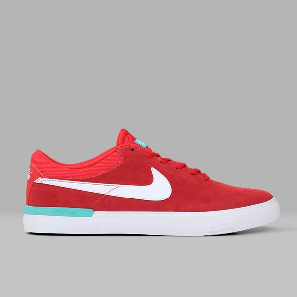 NIKE SB KOSTON HYPERVULC UNIVERSITY RED WHITE JADE
