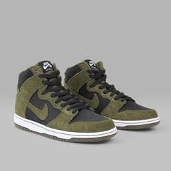NIKE SB 'LODEN DUNK' HIGH DARK LODEN BLACK