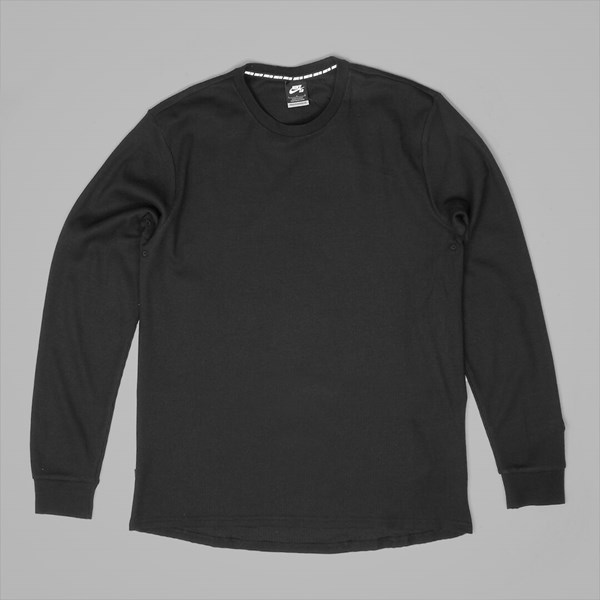 outlet boutique 100% high quality buying new NIKE SB LONG SLEEVE THERMAL BLACK | NIKE ...