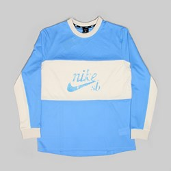 NIKE SB LS MESH TOP 'LANCE MOUNTAIN' UNIVERSITY BLUE