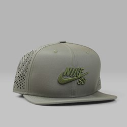 NIKE SB PERFORMANCE TRUCKER CAP MEDIUM OLIVE