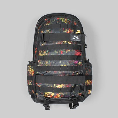NIKE SB PRM FLORAL BACK PACK 'ROSE PACK' BLACK