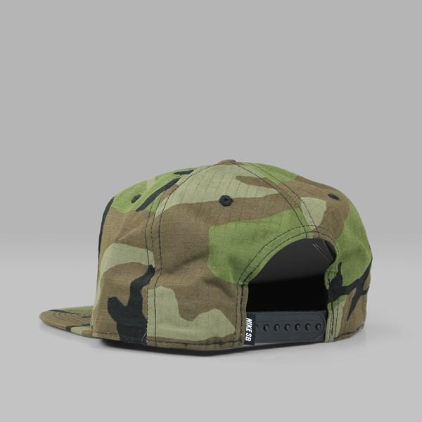 dc76fe9032b NIKE SB PRO CAP FABRIC  CAMO PACK  MEDIUM OLIVE