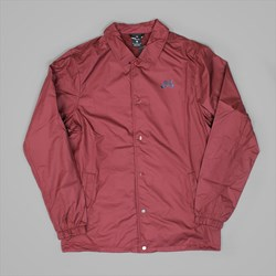 NIKE SB SHIELD COACHES JACKET DARK TEAM RED