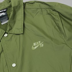 NIKE SB SHIELD COACHES JACKET LEGION GREEN