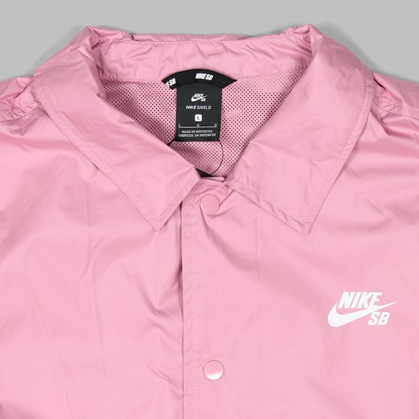 NIKE SB SHIELD JACKET ELEMENTAL PINK WHITE