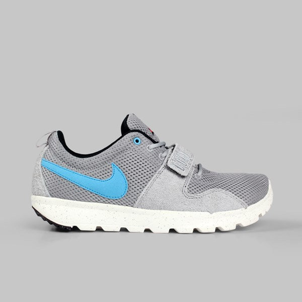 NIKE SB TRAINERENDOR 'MCFLY' BASE GREY BLUE