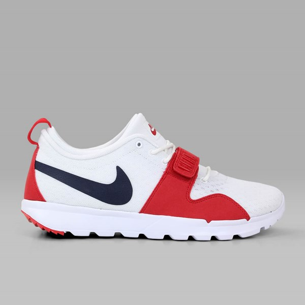 new arrival 9c67e fd1d1 NIKE SB TRAINERENDOR WHITE OBSIDIAN UNIVERSITY RED