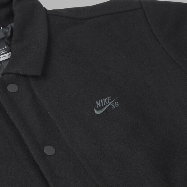 NIKE SB WOOL COACHES JACKET (WOOL PACK) BLACK